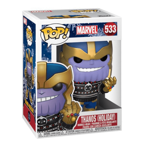 Фигурка Funko POP! Bobble: Marvel: Holiday: Thanos 43336