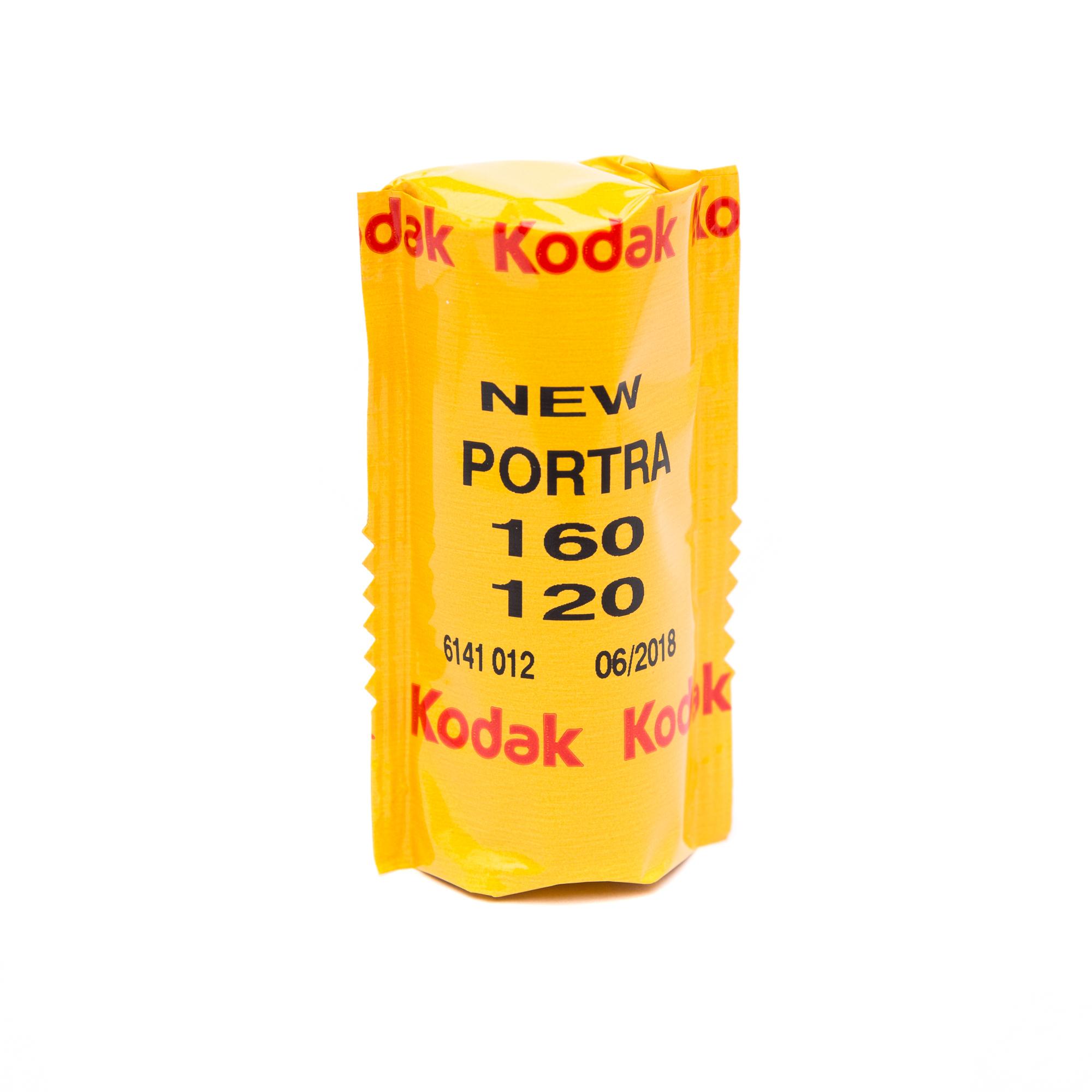 Фотопленка Kodak PORTRA 160/120