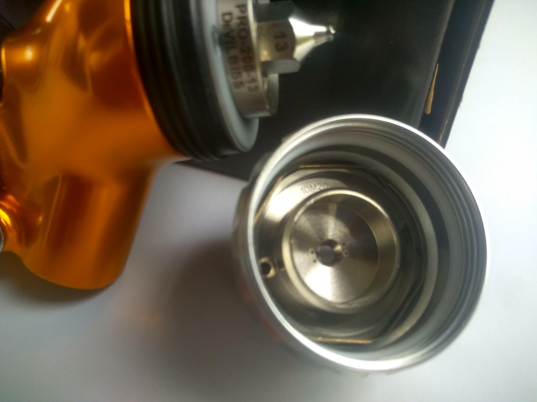 Краскопульт DeVilbiss GTI PRO LITE (1.3, T-110)