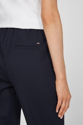 Женские темно-синие брюки Tommy Hilfiger