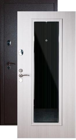 Дверь входная Falko Конструктор М-3, 2 замка, 2 мм  металл, (капучино+ясень белый)