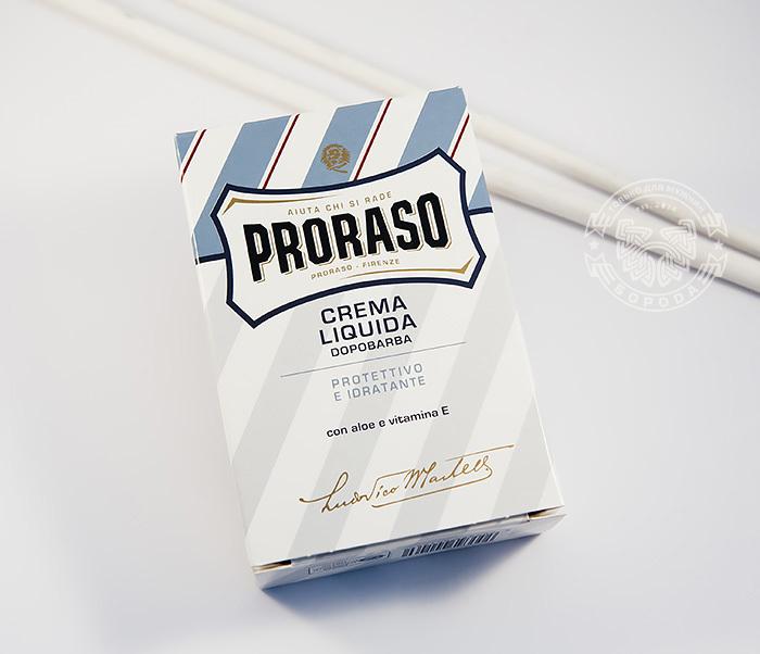 RAZ400118 Мужской бальзам после бритья «Proraso» с алое вера и витамином Е  (100мл) фото 02