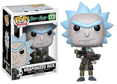 Фигурка Funko POP! Vinyl: Rick & Morty: Weaponized Rick 12439