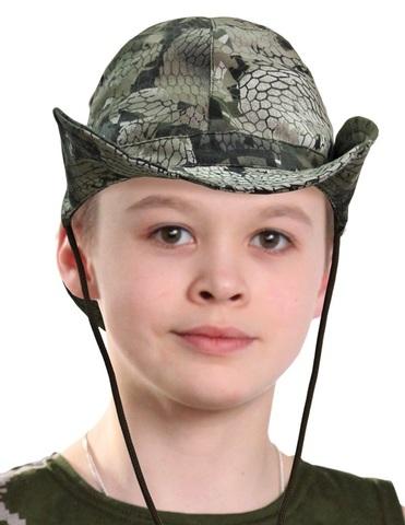 Панама Афганка детская (ткань Кобра)