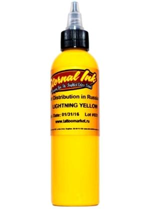 """Краска Eternal """"Lightning Yellow"""" тату краска"""