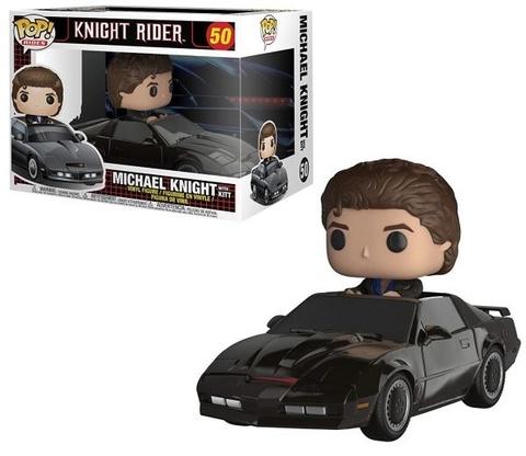 Фигурка Funko POP! Rides: Knight Rider: Knight w/ Kitt 32721
