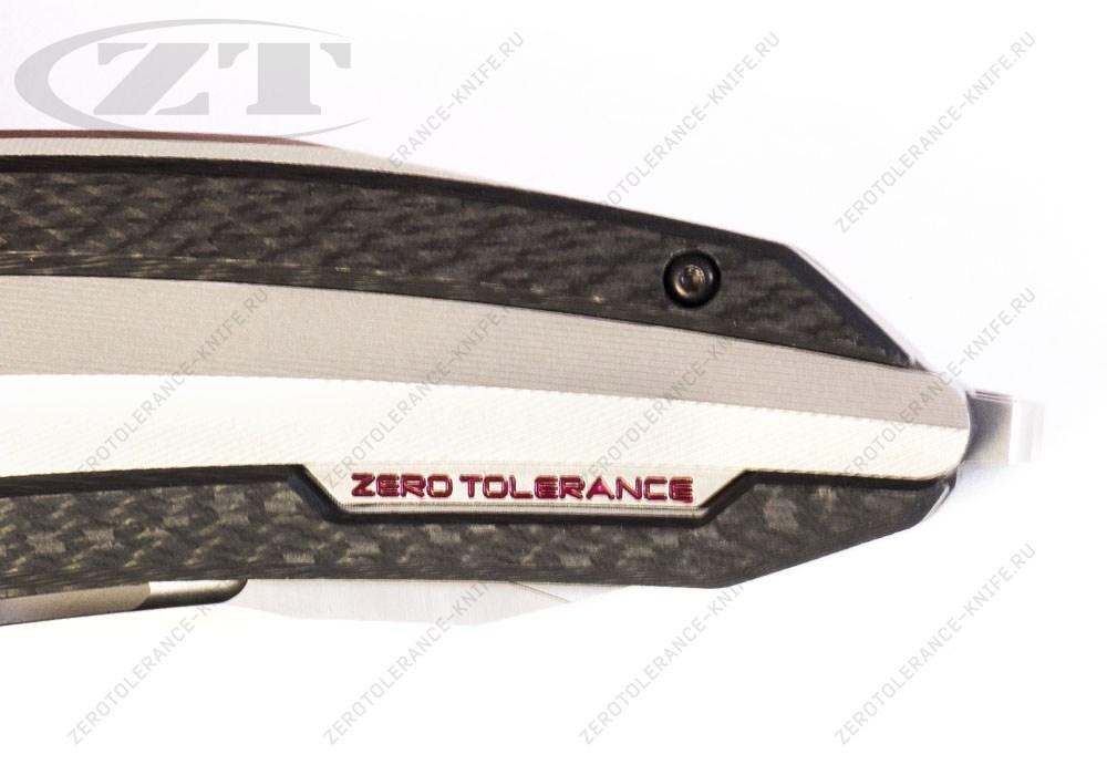 Нож Zero Tolerance 0999 Prototype Red - фотография