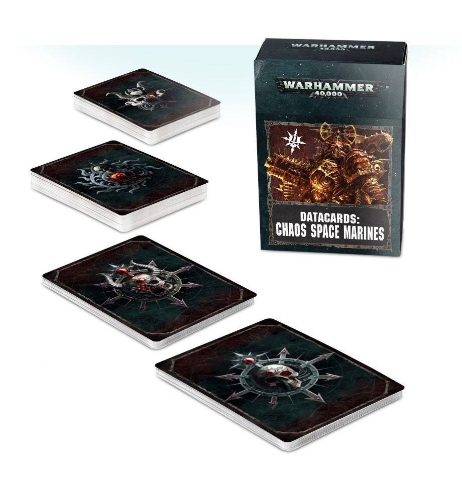 Datacards: Chaos Space Marines 2 (eng)