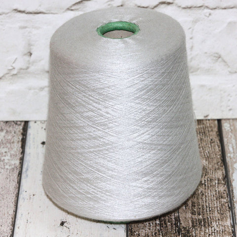 Кашемир с шелком 2/80 LORO PIANA ROYAL  жемчужно-серый