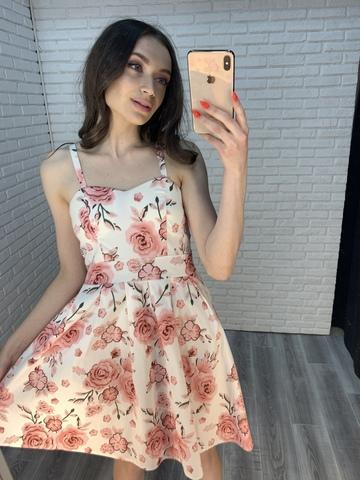сарафан белый с цветами nadya