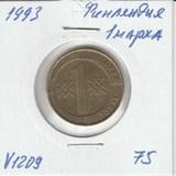 V1209 1993 Финляндия 1 марка