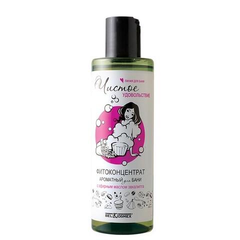 Фитоконцентрат ароматный для бани с эфирным маслом эвкалипта 200мл