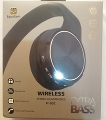 Qulaqcıq / Наушники / Headphones Wireless P-802 extra bass