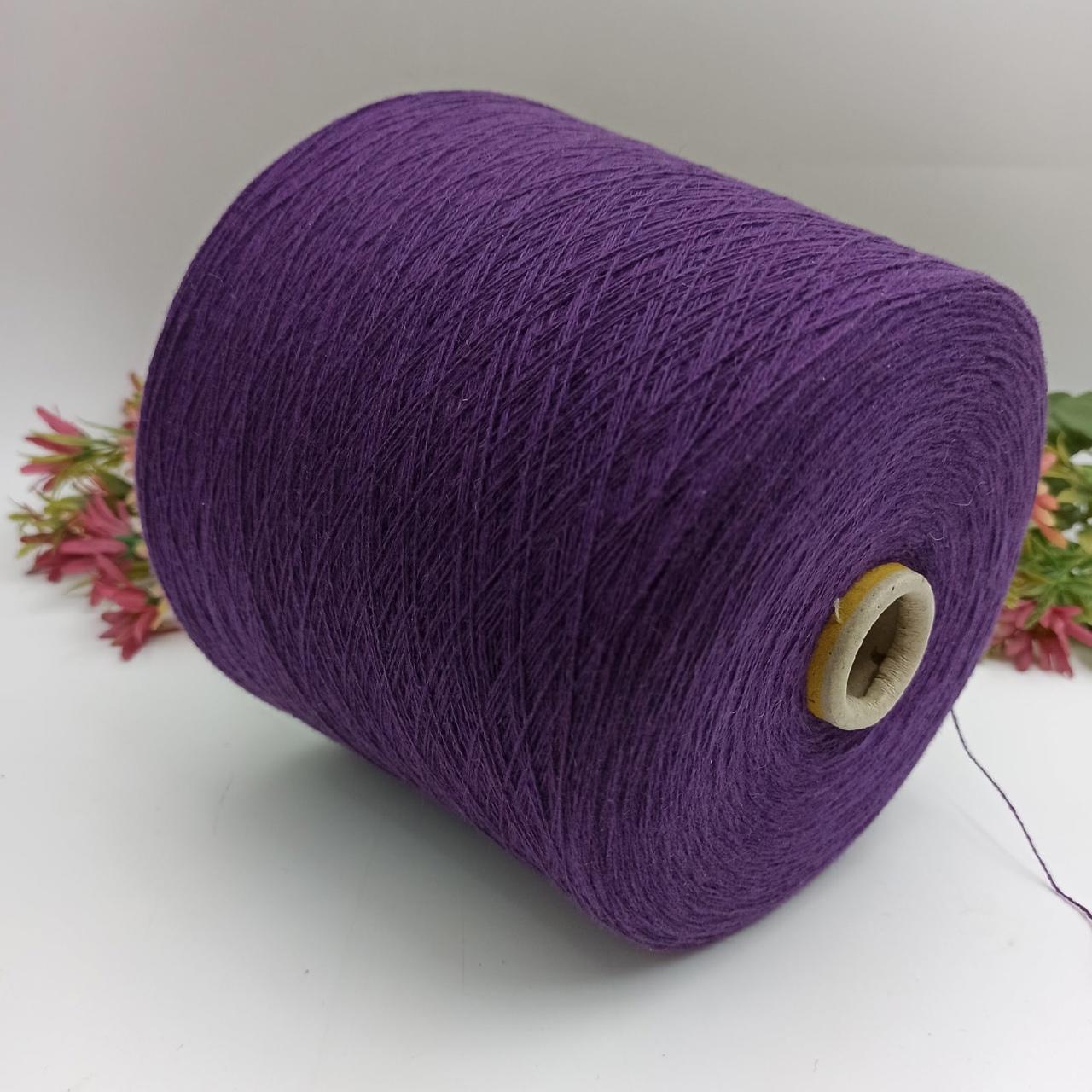 100% кашемир Cariadggi 924 фиолетовый