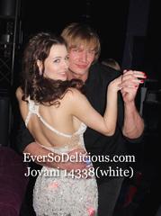 Ольга в платье Jovani 14338 white