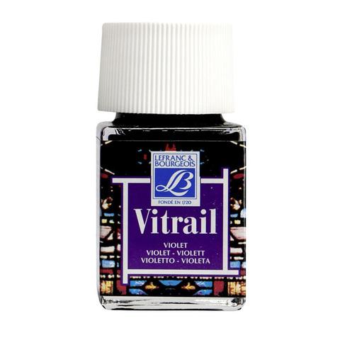 Краска по стеклу Lefranc&Bourgeois VETRAIL 50 мл 601, фиолетовый