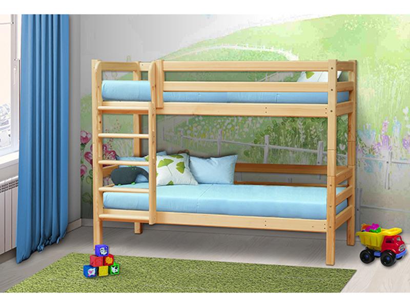 Кровать двухъярусная Мезонин 72