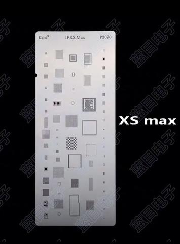 Трафарет BGA iPhone XS Max p3070 Kaisi