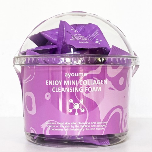 Пенки для умывания Пенка для умывания AYOUME  коллагеновая ENJOY MINI COLLAGEN CLEANSING FOAM 1шт*3гр 2020-06-2616-09-154-500x500-1.jpeg