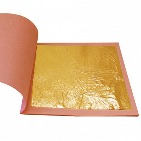 Пищевое золото, лист 8*8см, 25шт