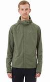 Элитная куртка для лыж и зимнего бега Gri Темп мужская оливковая