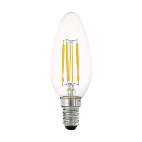 Лампа  LED филаментная 3 шага диммирования Eglo STEP DIMMING LM-LED-E14 4W 470Lm 2700K C35 11753