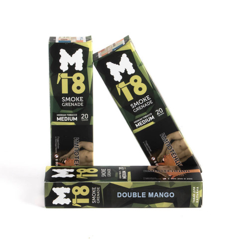 Табак M18 Medium Double Mango (Дабл Манго) 20 г