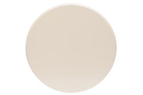 Стол обеденный Siena круглый раскладной ivory white
