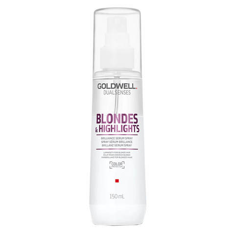 Спрей-сыворотка для осветленных волос, Goldwell Dualsenses Blondes & Highlights Brilliance Serum Spray, 150 мл.