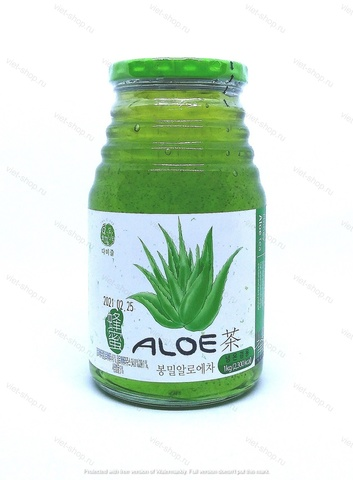 Алоэ с медом Da Jung Honey Aloe Tea, 1 кг.