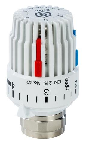 Stout M30x1.5 термостатическая головка газо-жидкостная 6-28°C (SHT 0001 003015)