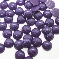 Купить оптом термоклеевой керамический полужемчуг фиолетовый Purple Velvet