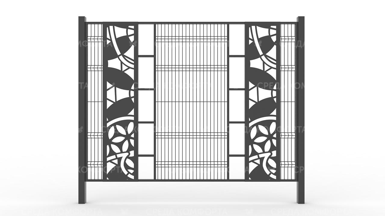 Забор 3Д ZBR0084