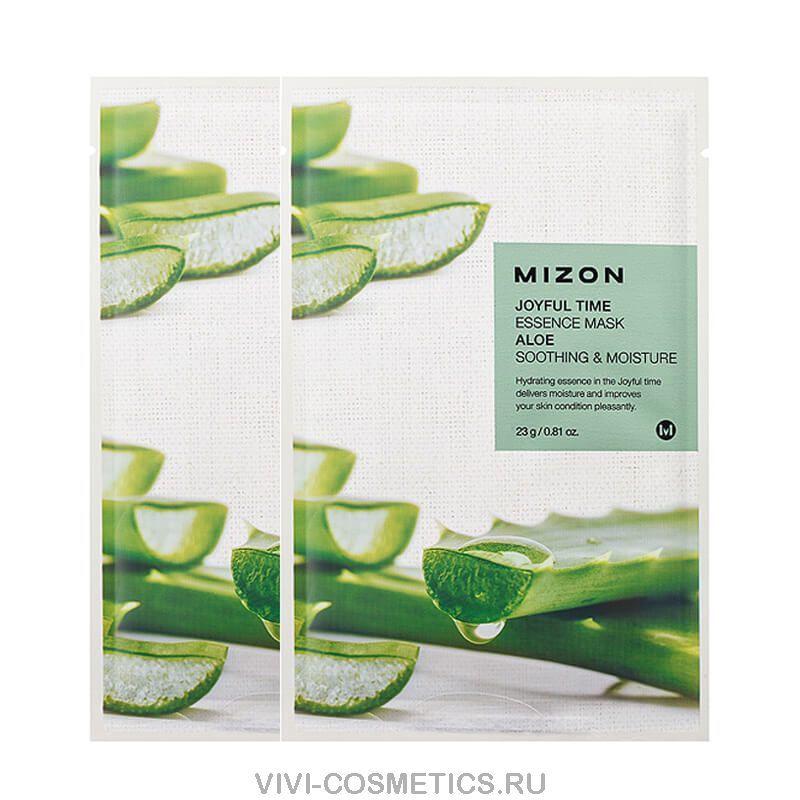 Маска с экстрактом алоэ MIZON