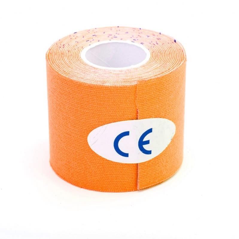 Оранжевый цвет кинезио лента