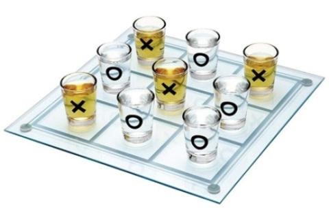 Алкогольная игра Пьяные крестики-нолики, маленькая