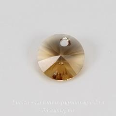 6428 Подвеска - Rivoli  Сваровски Light Colorado Topaz (8 мм)