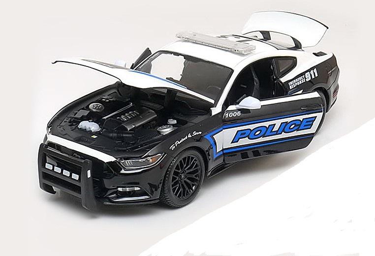 Коллекционная модель Ford Mustang GT Policy Car 2015