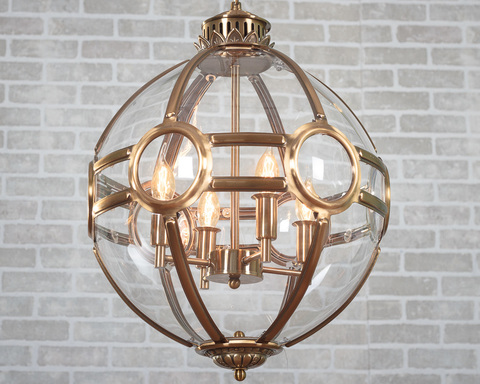 люстра Lantern Hagerty D43