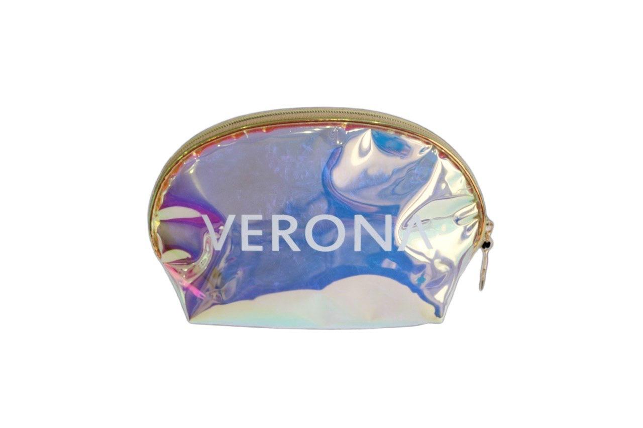 Косметичка Verona Holographic круглая