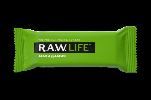 Батончик R.A.W. LIFE Макадамия 47 гр