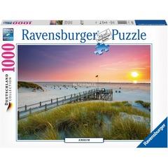 Puzzle - Sunset over Amrum         1000p