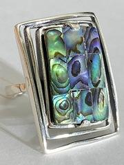 Декарт (кольцо  из серебра)