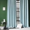 Комплект штор и покрывало Белла голубой