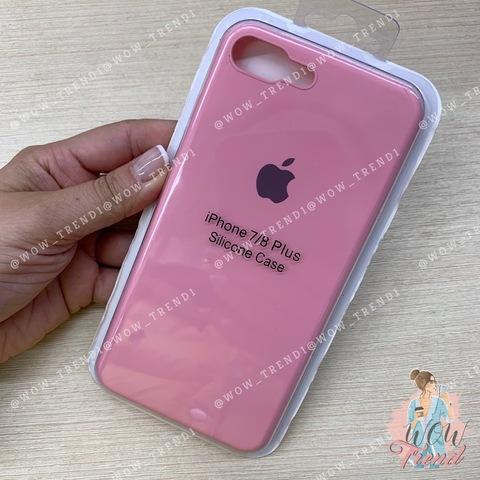 Чехол iPhone 7/8 Plus Silicone Slim Case /pink/