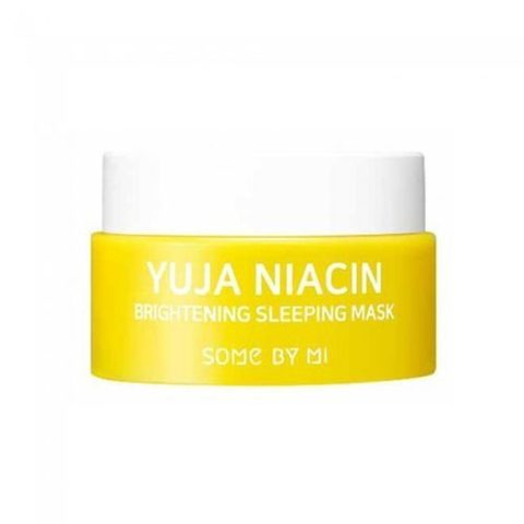 Ночная осветляющая маска Some by mi Yuja Niacin 30 Days Miracle Brightening Sleeping Mask mini, 15 г