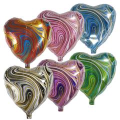 Воздушный шар Сердце - Агат