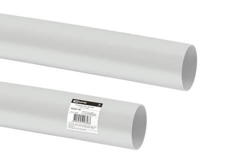 Воздуховод пласт. круглый, D125, 1 м, TDM
