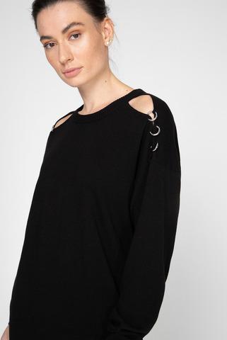 Женское черное платье M-MERS Diesel