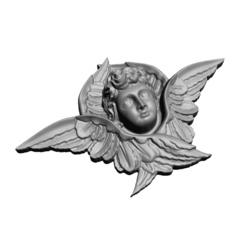Силиконовый молд № 2020  м  Ангел в крыльях малый